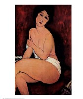 "La Bell Romaine by Amedeo Modigliani - 22"" x 27"""