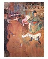 """Quadrille by Henri de Toulouse-Lautrec - 22"""" x 27"""""""