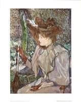 Mme. Honorine P. Fine Art Print
