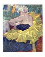Lady Clown Cha-U-Kao Fine Art Print