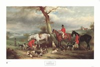 "Thomas Wilkinson, Mfh, with the Hurworth by John E. Ferneley Sr. - 32"" x 22"""