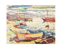 Port of L'Estaque, 1906 Fine Art Print