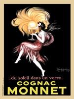 """Cognac Monnet, 1927 by Leonetto Cappiello, 1927 - 18"""" x 24"""""""
