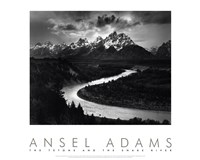 "Snake River by Ansel Adams - 30"" x 24"""
