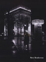 "Paris Rendevous by Tom Nebbia - 24"" x 32"""