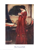 The Crystal Ball, c.1902 Fine Art Print