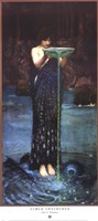 Circe Invidiosa, c.1892 Framed Print