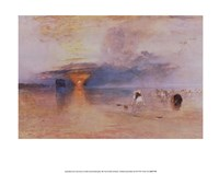 "Calais Sands at Low Water by J.M.W. Turner - 14"" x 11"" - $9.99"