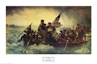 Washington Crossing the Delaware, c.1851 Framed Print