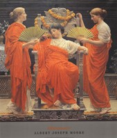 "Midsummer by Albert Joseph Moore - 27"" x 32"""