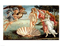 The Birth of Venus Fine Art Print