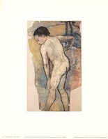 Breton Bather Fine Art Print
