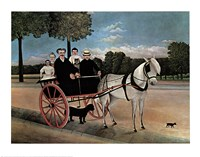 Father Juniet's Cart Fine Art Print