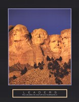 "Leaders - Mount Rushmore by Mali Nave - 22"" x 28"""
