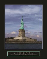 Liberty-Statue of Liberty Fine Art Print