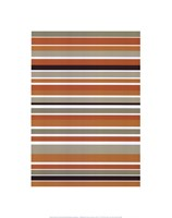 Terracotta Stripes Fine Art Print