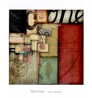"One Travel by R. D. Daves III - 30"" x 32"""
