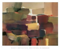 "Invitation to Wonder by Nancy Ortenstone - 50"" x 42"""