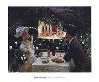 "Dinner at Les Ambassadeurs by BERAUD - 24"" x 20"""