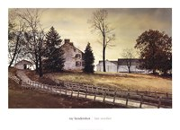 "Late October by Ray Hendershot - 36"" x 26"""