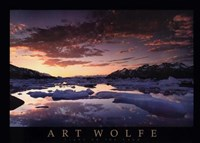 "St. Elias Mountains by Art Wolfe - 34"" x 24"""