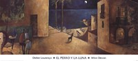 El Perro y la Luna Framed Print