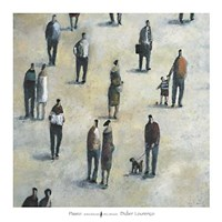 """Paseo by Didier Lourenco - 38"""" x 38"""""""