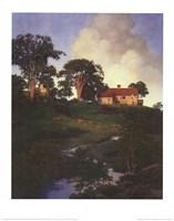"""Hunt Farm by Maxfield Parrish - 22"""" x 28"""""""