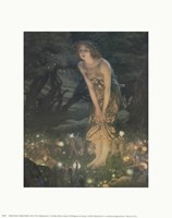 Midsummer Eve, c.1908 Framed Print