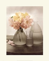 Frosted Glass Vases III Fine Art Print