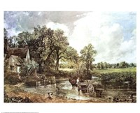 "The Haywain by John Constable - 27"" x 22"" - $14.99"