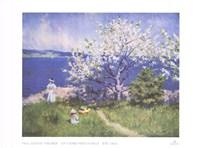 Un Fjord Pres D'oslo Ete 1892 Fine Art Print