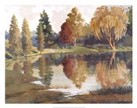 Autumn Reflections Fine Art Print