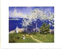 Fjord Near Oslo Fine Art Print