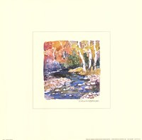 Autumn Stream Fine Art Print