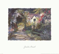 Garden Bench Fine Art Print