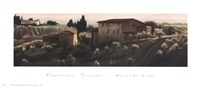 "Calcinaia, Tuscany by Mallory Lake - 30"" x 13"" - $22.99"