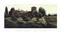 Pastine, Tuscany Fine Art Print