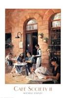 Cafe Society II Fine Art Print