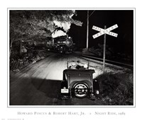 Howard and Robert Hart Jr. Pincus - Night Ride, 1985 Fine Art Print