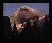 Half Dome, Winter Sunset, Yosemite Fine Art Print