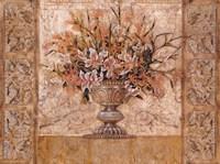 Floral Tapestry (gold foil) Fine Art Print