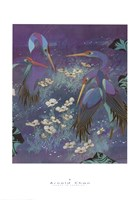 Cranes in Paradise I Fine Art Print
