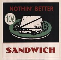 Sandwich Fine Art Print