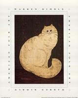 White Persian Cat Fine Art Print