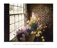 """Flower House Morning by Phillip Philbeck - 24"""" x 20"""""""