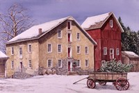 A Winter's Day Fine Art Print
