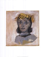 Head of Dora Maar Fine Art Print