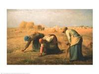 Gleaners 1857 Fine Art Print