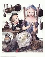 in the Kitchen Fine Art Print